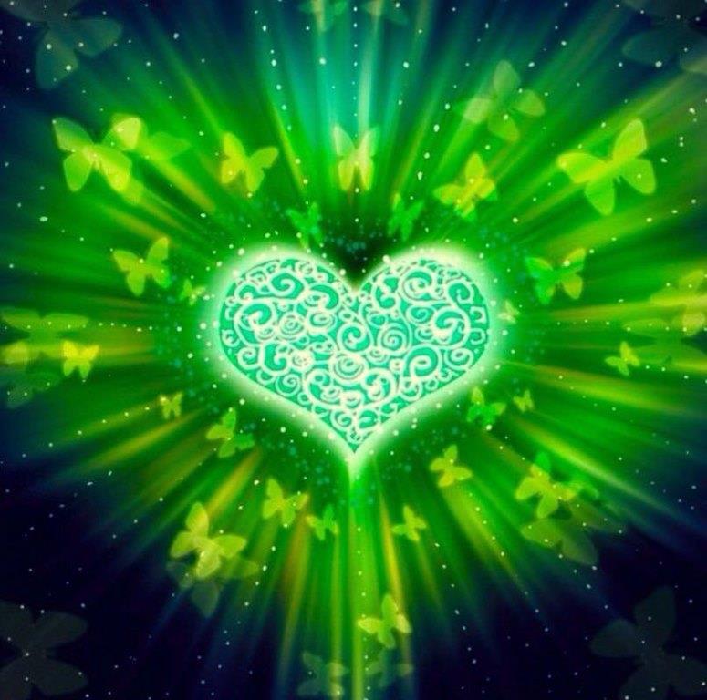 зелёный свет помогает вернуть Душе лёгкость и озорство